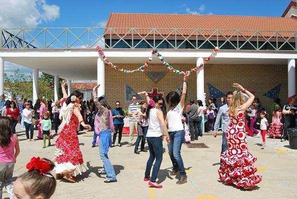 Cruz De Mayo En el CEIP