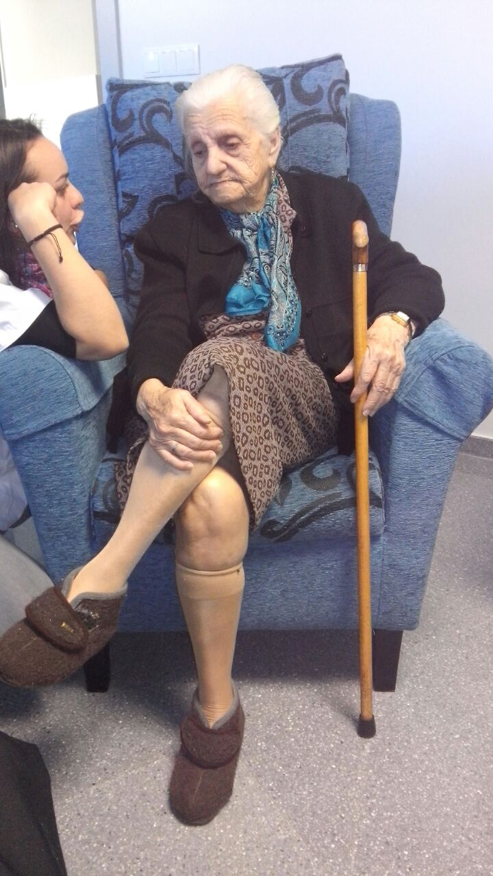 Antonia Polonio Hidalgo 104 años