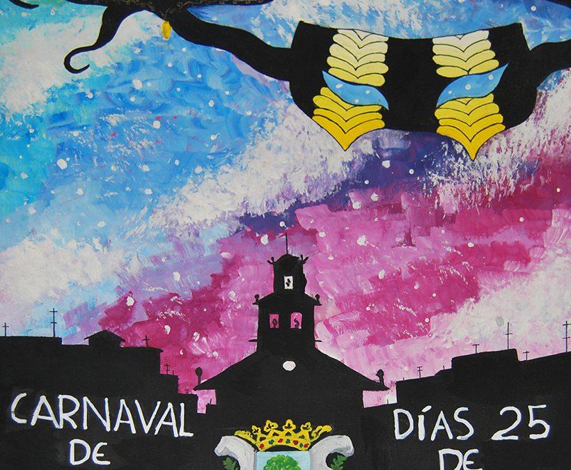 Finalistas del concurso de carteles de carnaval 2017