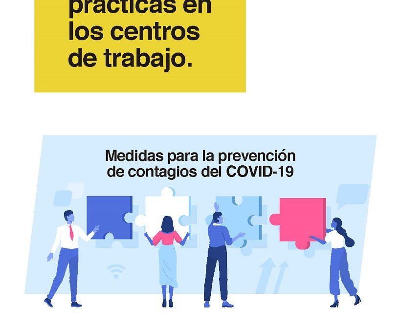Directrices de buenas prácticas en los centros de trabajo.(Gobierno de España)