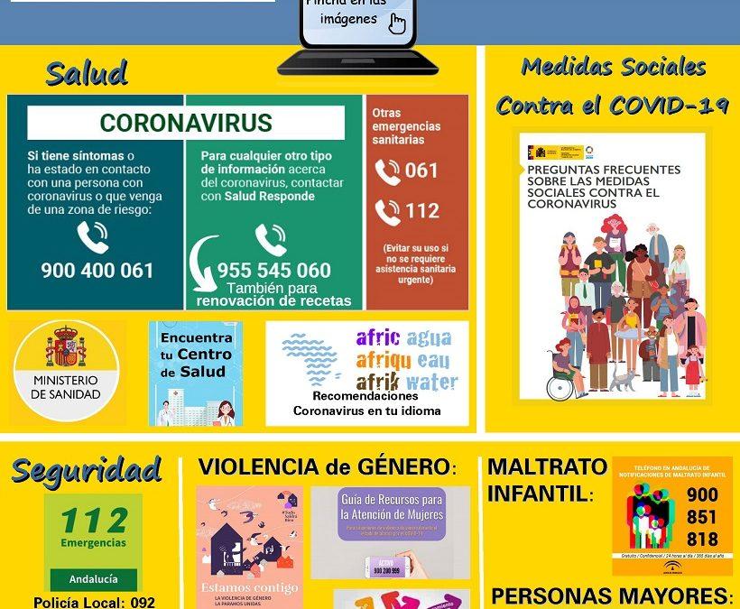 Recursos sociales ante el COVID-19