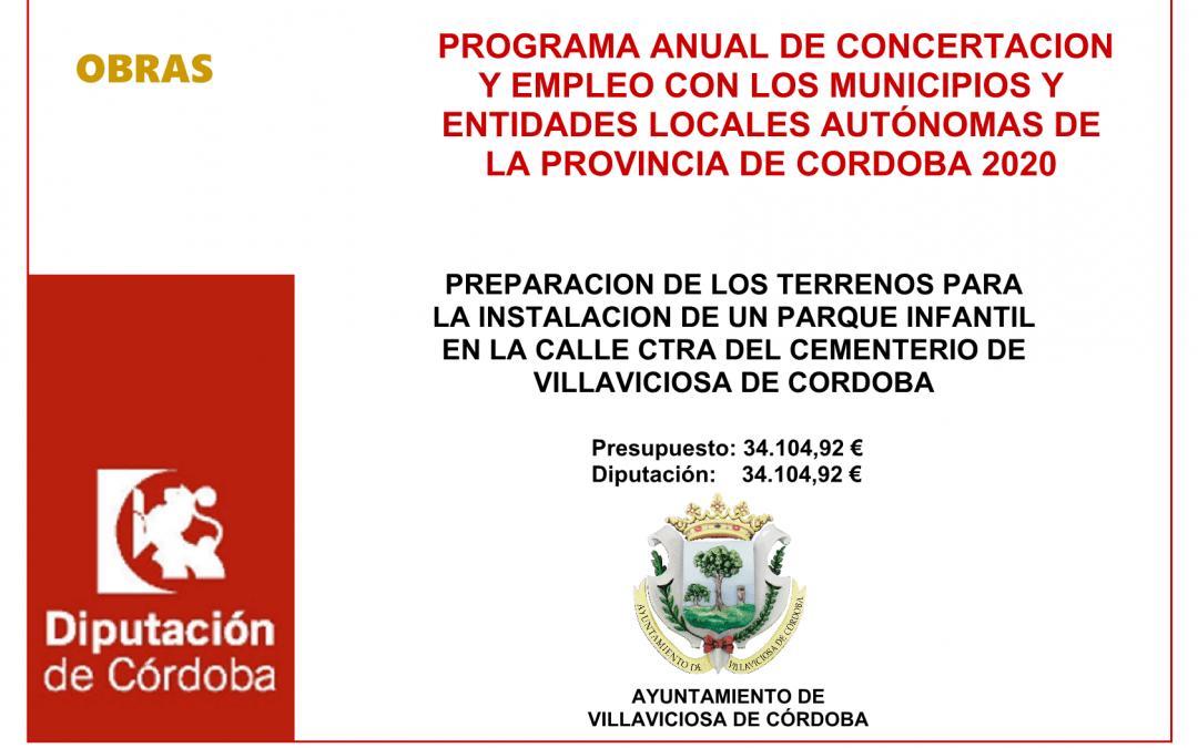 PROGRAMA ANUAL DE CONCERTACION Y EMPLEO 2020. CULTURA (II) 1